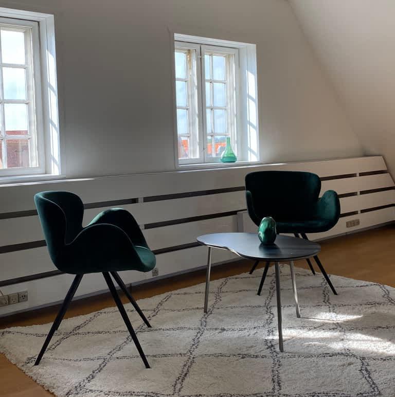 Psykolog samtale Bornholm stole