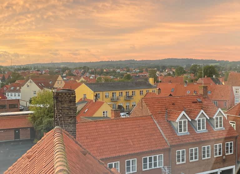 Nexo bornholm udsigt byens tage